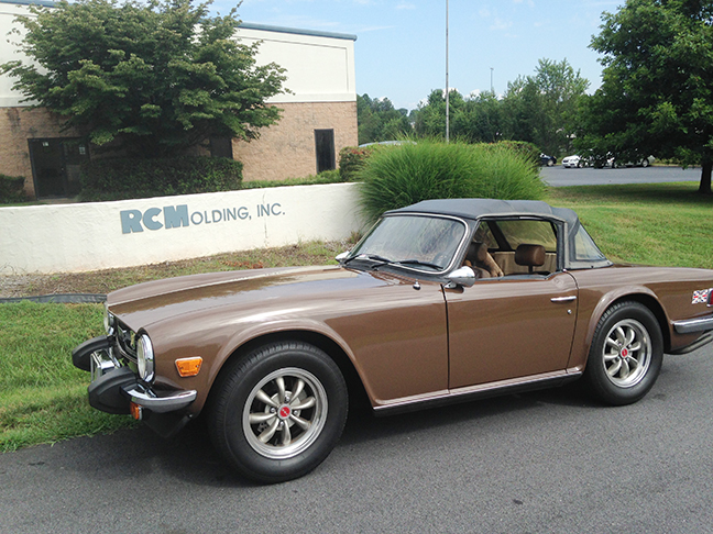 Photo of Bill Huphrey's 1976 TR6