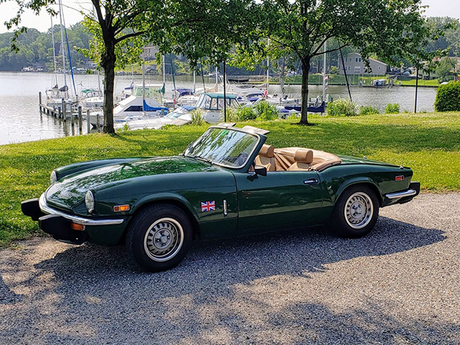 Photo of Bruce Hunter's 1978 Spitfire