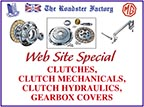 Graphic for Triumph and MGB clutch components on sale